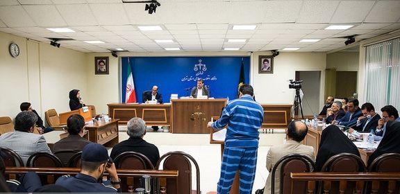 نهمین جلسه رسیدگی به اتهامات حمید باقری درمنی