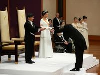 جشن تغییر امپراتور در ژاپن +تصاویر