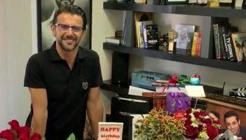 جشن تولد 49سالگی آقای بازیگر +عکس