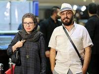 همبازی شدن رضا عطاران و همسرش +عکس
