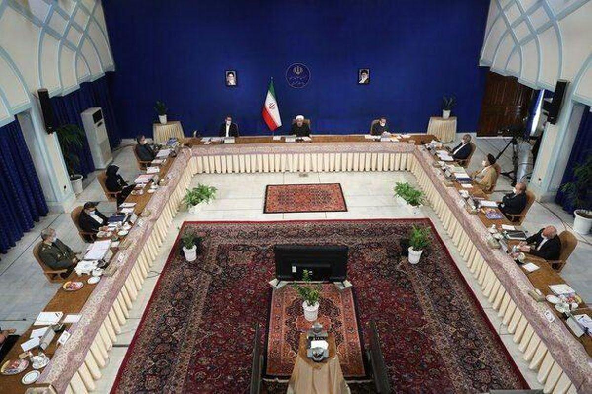 جلسه فوقالعاده دولت به منظور رسیدگی به لایحه بودجه سال۱۴۰۰ برگزار شد