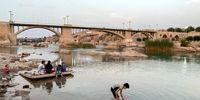 کرونا و حضور مردم کنار رودخانه دز +تصاویر