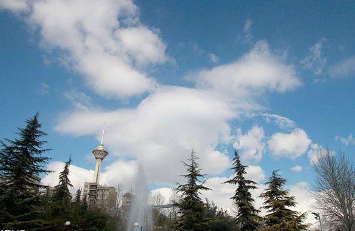 کاهش دمای هوای استان تهران از فردا