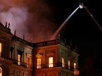 آتشسوزی موزه ۲۰۰ ساله برزیل +تصاویر