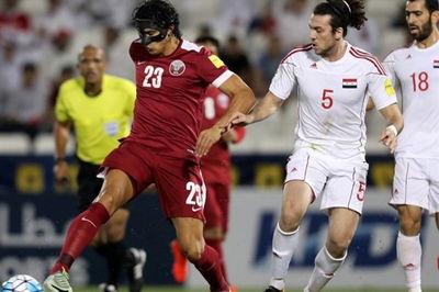 پیروزی تیم ملی فوتبال قطر قبل از دیدار برابر ایران