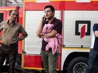 اطفاء حریق در پاساژ شهریار تبریز