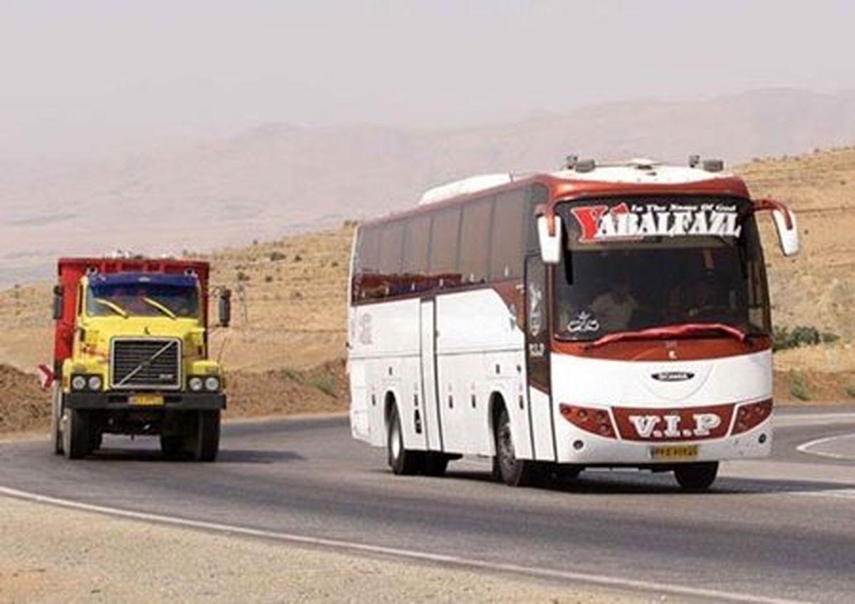 کاهش ۲۰ درصدی مسافران حملونقل عمومی جادهای
