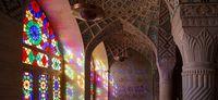 مسجد صورتی +تصاویر
