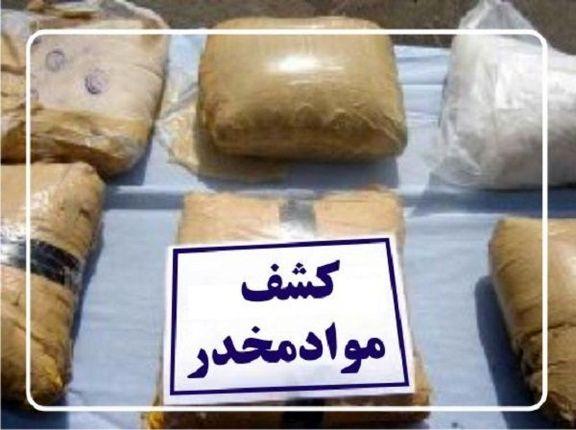 ۱۱۴کیلوگرم مواد مخدر از یک قاچاقچی کشف شد