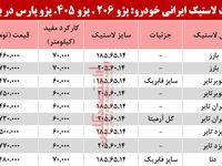 قیمت انواع لاستیک ایرانی خودرو در بازار چند شد؟ +جدول