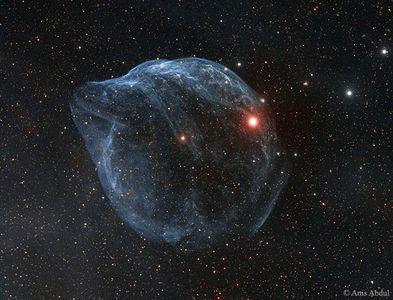 حباب غول پیکر فضایی +عکس
