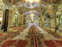 افطاری در حرم مطهر علوی +تصاویر