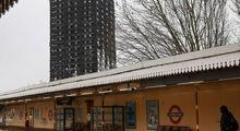 شش ماه پس از آتسسوزی برج گرنفل لندن +تصاویر