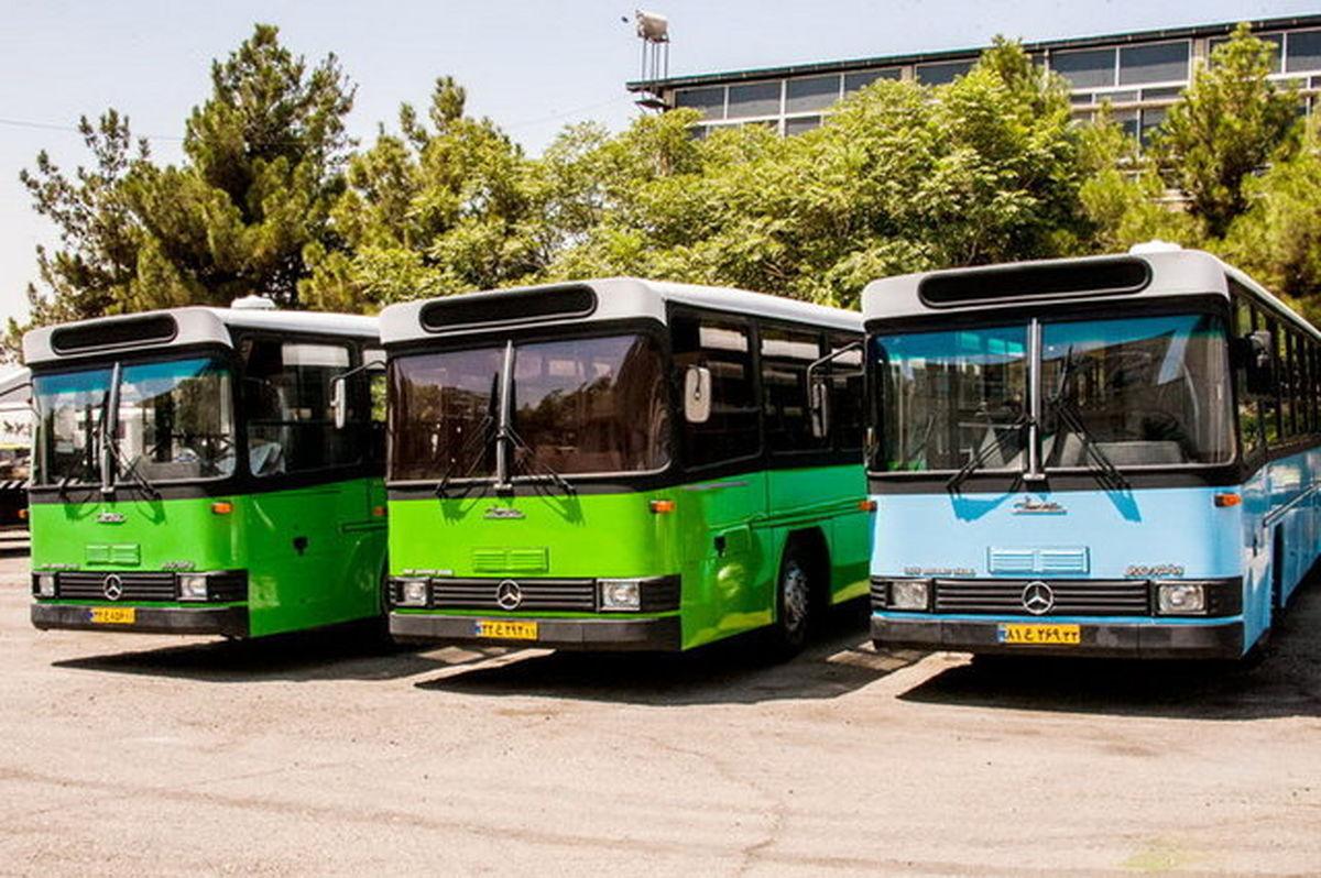استمرار خدمت رسانی ناوگان اتوبوسرانی پایتخت در تعطیلات