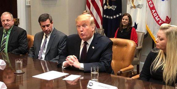 ترامپ: نباید «خطر ایران» را دستکم گرفت