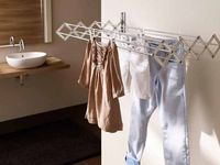 چگونه لباسها را در خانه خشک کنم؟