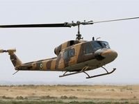 سقوط یک فروند بالگرد ارتش در ارومیه