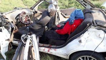 تصادف در آزادراه کرج -تهران یک کشته بر جای گذاشت