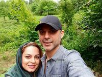 بازیگر معروف و خواهرش +عکس