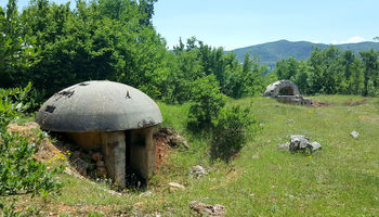 بقایای جنگ سرد در آلبانی +تصاویر