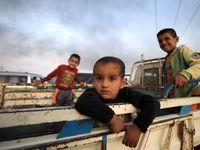 فرار خانوادههای وحشت زده از راس العین +تصاویر
