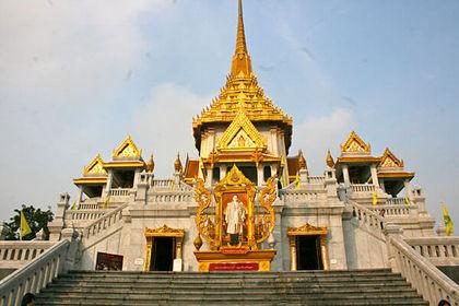 معبد ترایمیت در بانکوک +تصاویر
