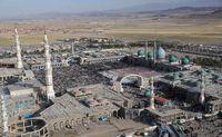 دربهای حرم حضرت معصومه(س) و مسجد جمکران بسته شد