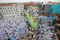 برگزاری نماز عید فطر از مالزی تا ایتالیا +تصاویر