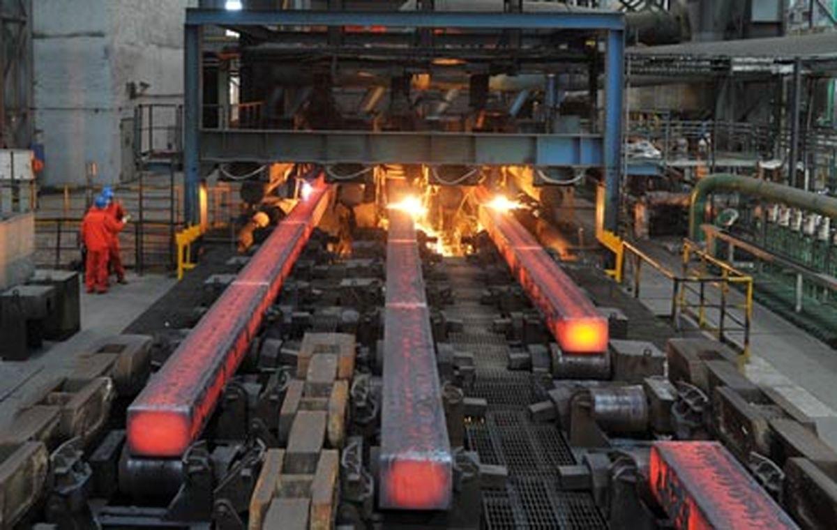 تولید فولاد خام ایران ۱۴درصد رشد کرد