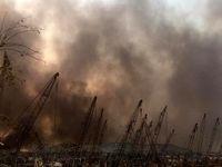 جزییات جدید از انفجار در بیروت +عکس