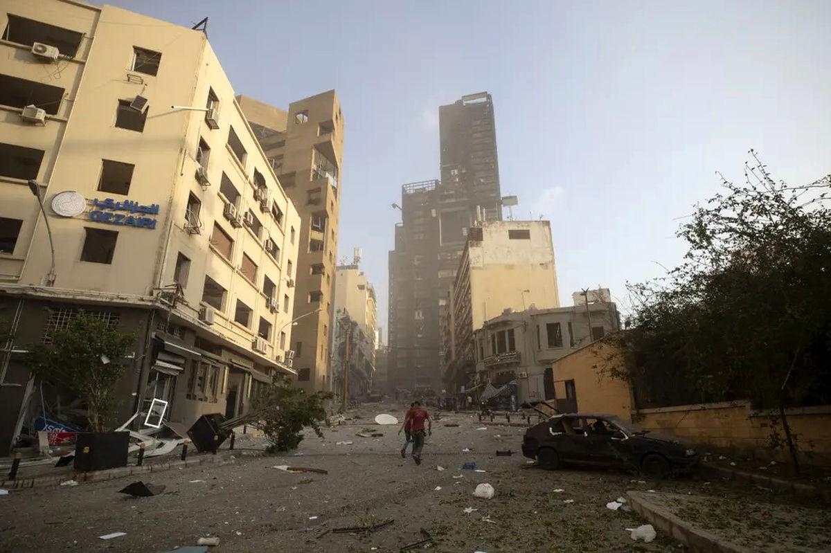دستکم ۲۲۰۰نفر در انفجار بیروت زخمی شدند
