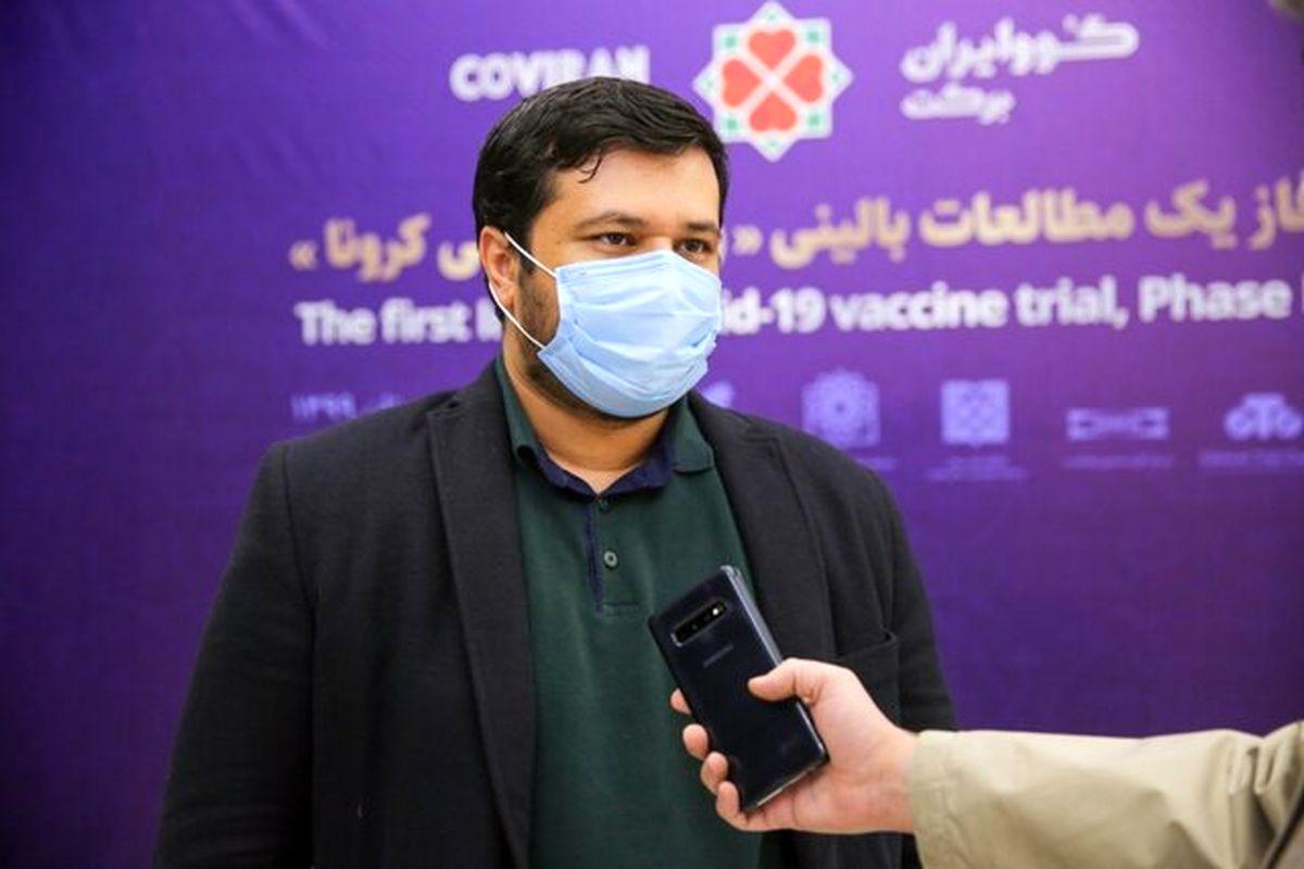آنتیبادی در ۹۱ درصد داوطلبان واکسن برکت افزایش یافت