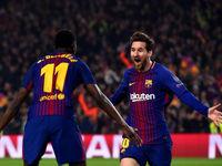 صعود بارسلونا با صدمین گل مسی