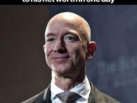 رکورد جف بزوس در افزایش ثروت!/ مدیرعامل آمازون در یک روز ۱۳میلیارد دلار بهدست آورد