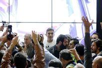 عابدزاده نمایشگاه حمل و نقل را به هم ریخت +تصاویر