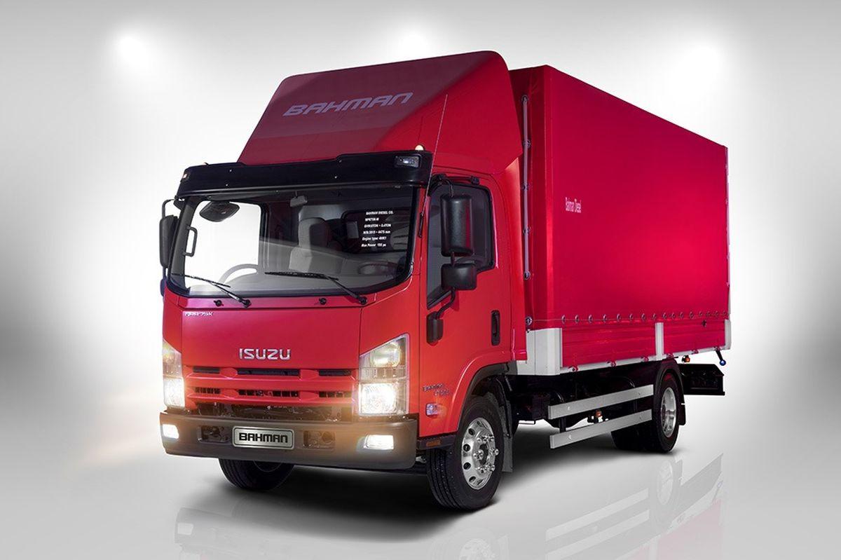 کامیونت NPR75K جدیدترین محصول پنج ستاره بهمن دیزل