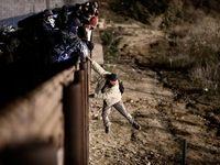 پرتاب گاز اشکآور ارتش آمریکا به مهاجران مکزیکی +تصاویر