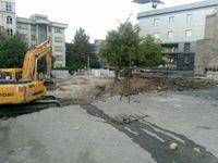انفجار ساختمان مسکونی در تجریش +عکس