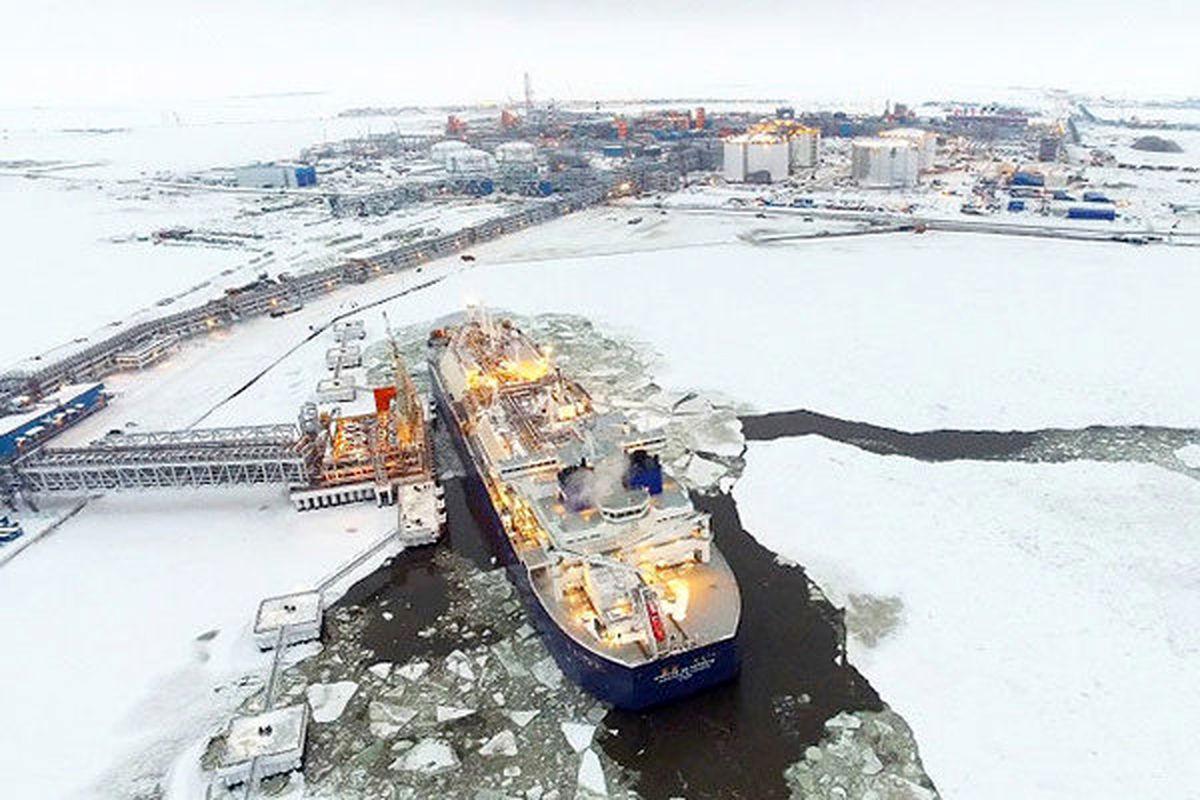 سهم بزرگی از الانجی قطب شمال روسیه به آسیا صادر میشود