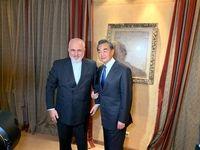 دیدار ظریف و همتای چینی در حاشیه کنفرانس مونیخ
