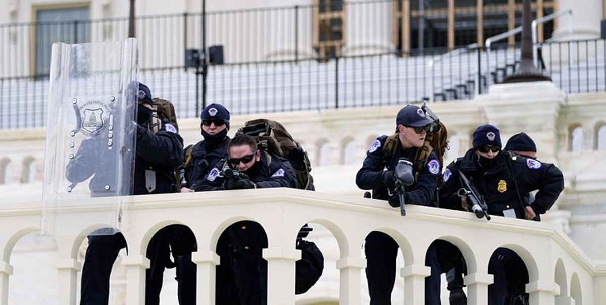 تروریستهای داخلی دنبال حمله به کنگرههای ایالتی آمریکا
