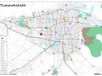 نقشه کامل خطوط متروی تهران