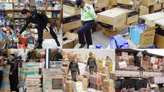 بررسی عملکرد مبارزه با قاچاق کالا در سطح عرضه در دی97
