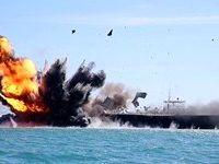 رزمایش سپاه در خلیج فارس و تنگه هرمز برگزار شد
