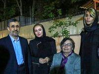 دو بازیگر سرشناس در افطاری احمدینژاد +عکس
