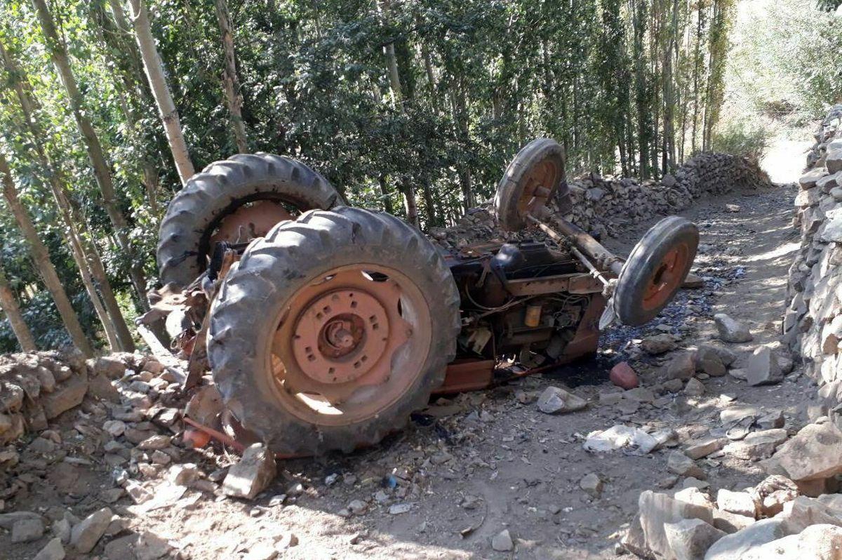 واژگونی تراکتور در شیروان مرگ راننده را رقم زد