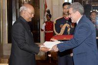 رئیس جمهوری هند خواستار گسترش روابط با ایران شد