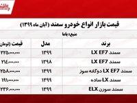 سمند LX ساده چند؟ +جدول