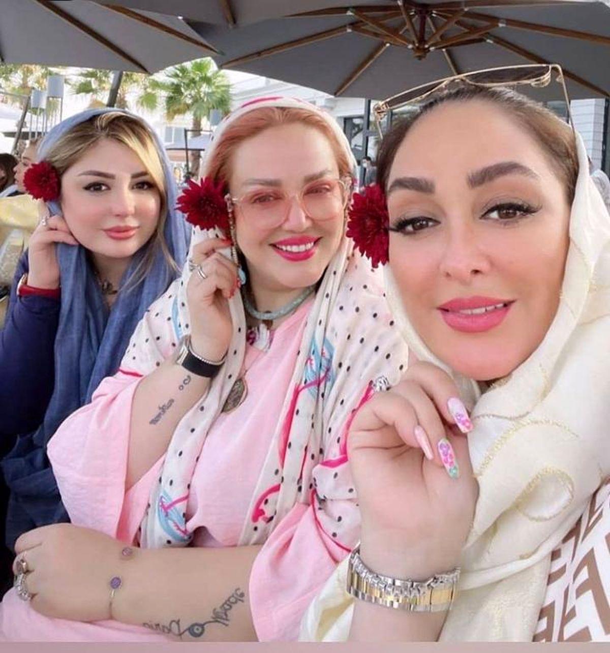 تعطیلات بهاره رهنما و نیوشا ضیغمی در دروان کرونا +عکس