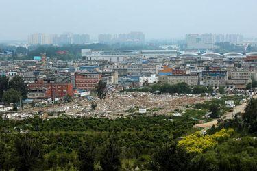 بازسازی بافت شهری به سبک چینی